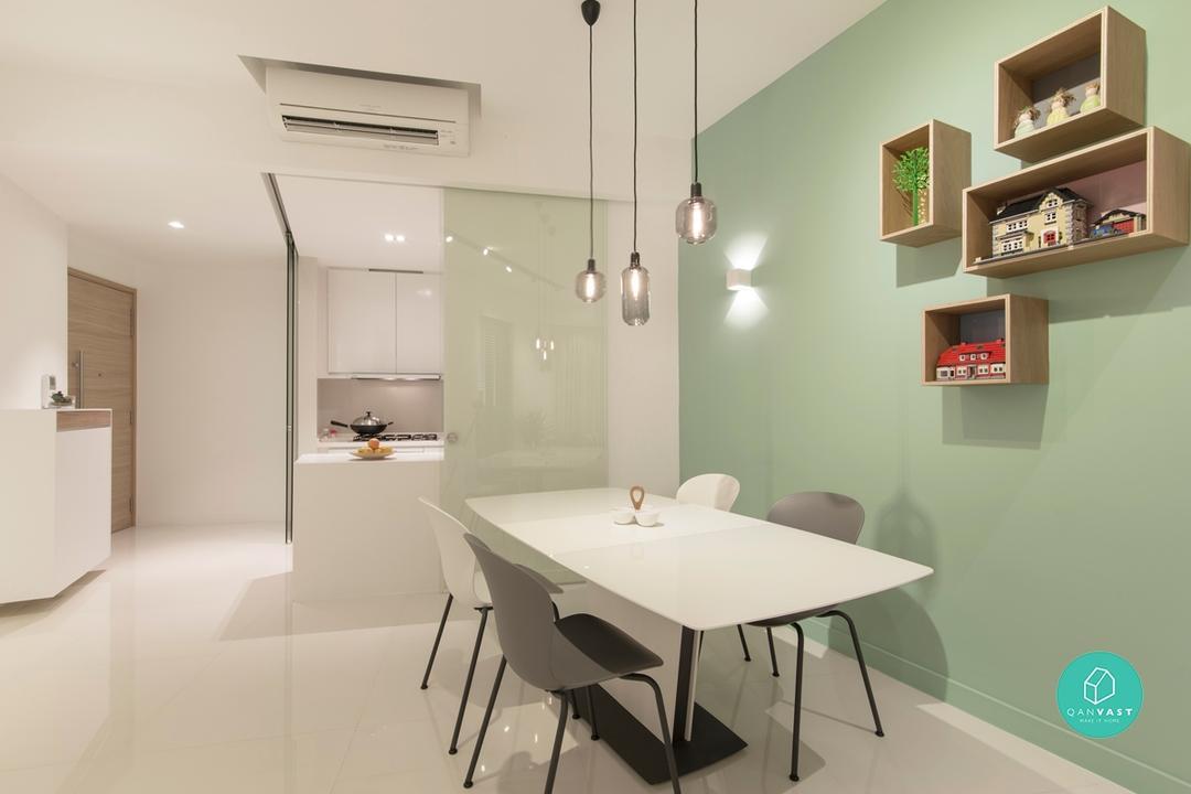 tidy house neat built-in ideas HDB flats