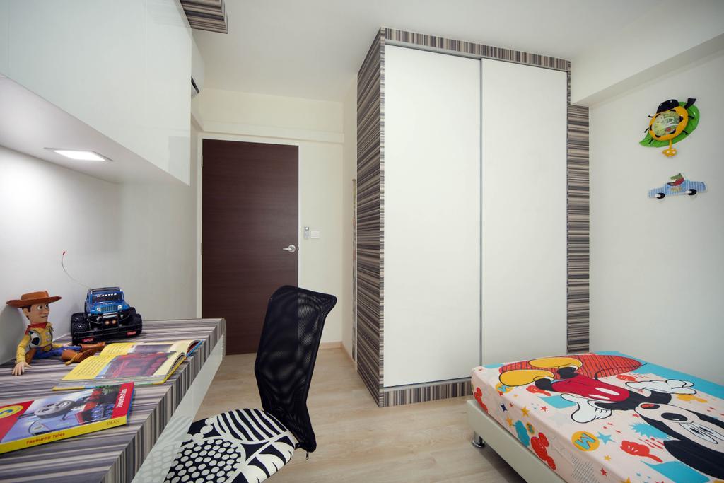 Contemporary, HDB, Bedroom, Clementi Avenue 1 (Block 425), Interior Designer, De Exclusive Design Group