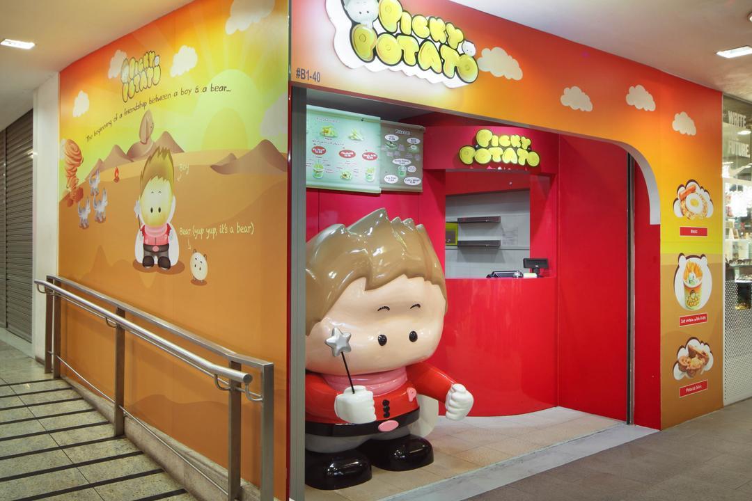 Food Kiosk | Interior Design Singapore | Interior Design Ideas