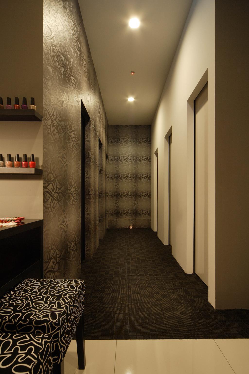 Pure Solution, Commercial, Interior Designer, De Exclusive Design Group, Traditional, Wallpaper, Hallway, Walkway