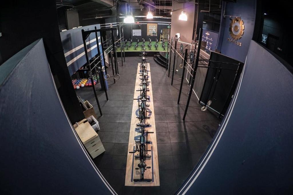 20 Mobilus Gym, Commercial, Interior Designer, Liid Studio, Industrial
