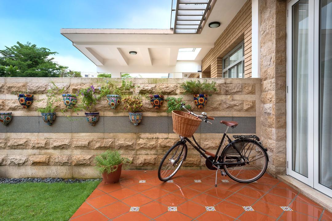 Sunrise Walk, Ciseern, Contemporary, Landed, English Bicycle, Bicycle, Bike, Transportation, Vehicle