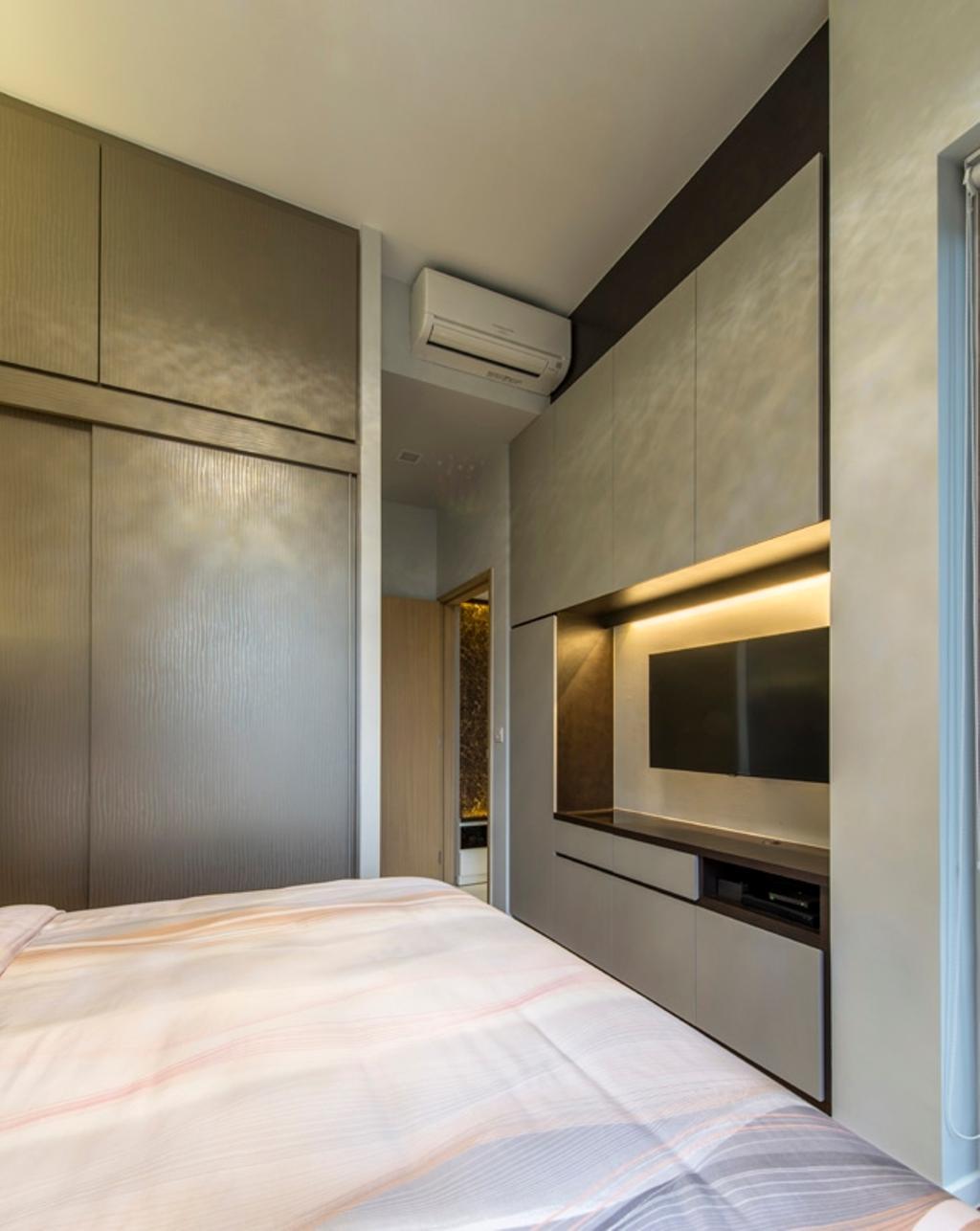 Modern, Condo, Bedroom, Boathouse Residences, Interior Designer, Space Define Interior, Indoors, Interior Design