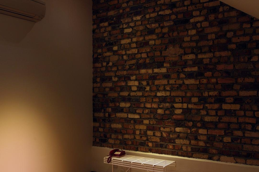 259 Tembeling Road, Space Define Interior, Modern, Landed, Brick Wall, Raw, Bench, Chair, Minimalist, Slanted Ceiling, Parquet