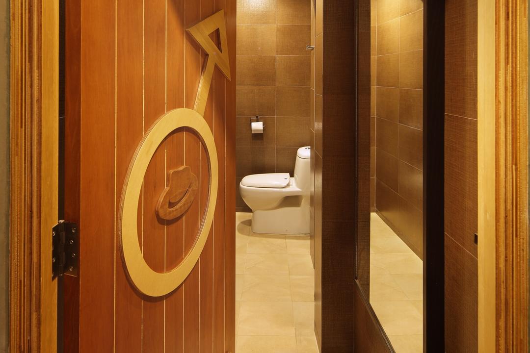 318 Joo Chiat Road, Space Define Interior, Modern, Bathroom, Commercial, Tile, Tiles, Mirror, Full Length Windows, Rain Shower, Wood Laminate, Wood, Laminate, Wall Art, Wall Sculpture, Warm Tones, Toilet