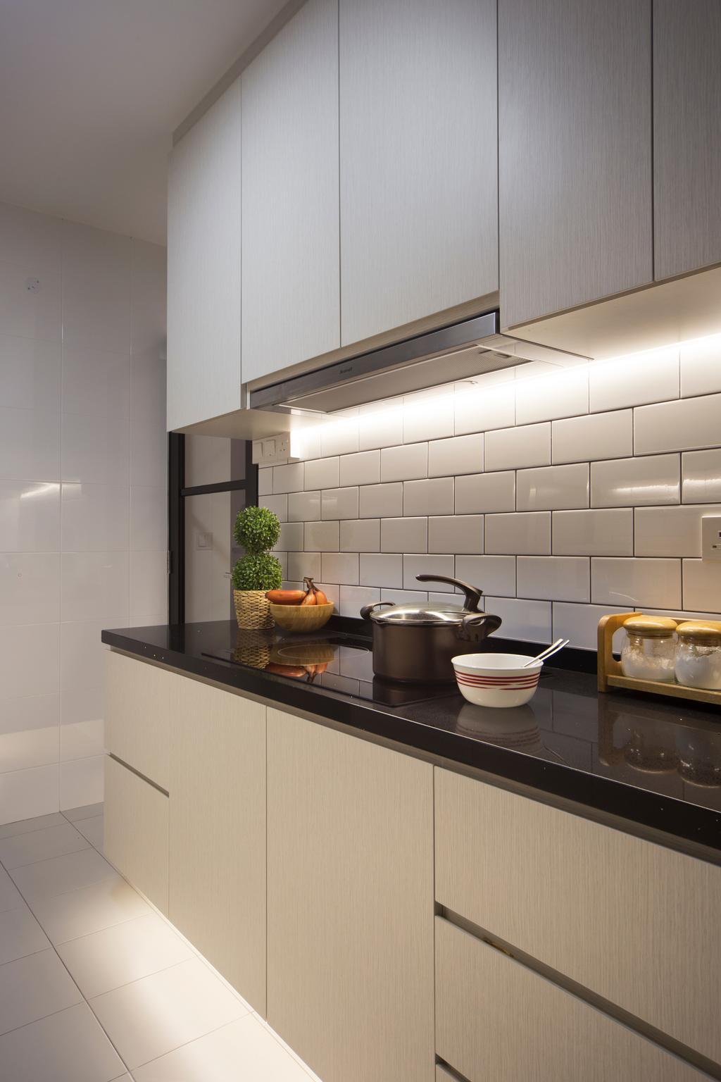 Industrial, HDB, Kitchen, Skyville @ Dawson, Interior Designer, Space Concepts Design, Kitchen Carpentry, Pot
