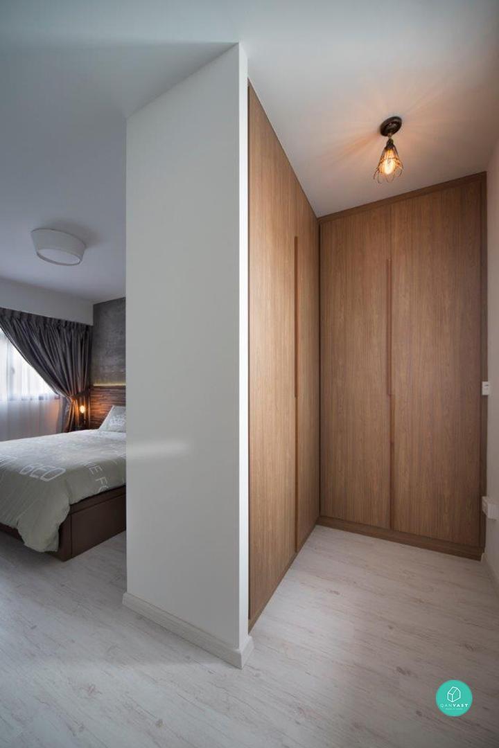 Hdb 3 Room Designer Decor: 5 Ways To Maximise Your Master Bedroom Floor Area