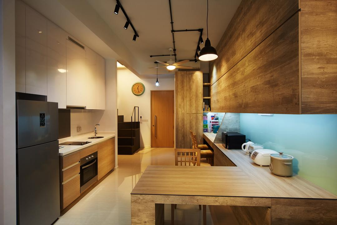 White Kitchen Cabinets Interior Design Singapore Interior