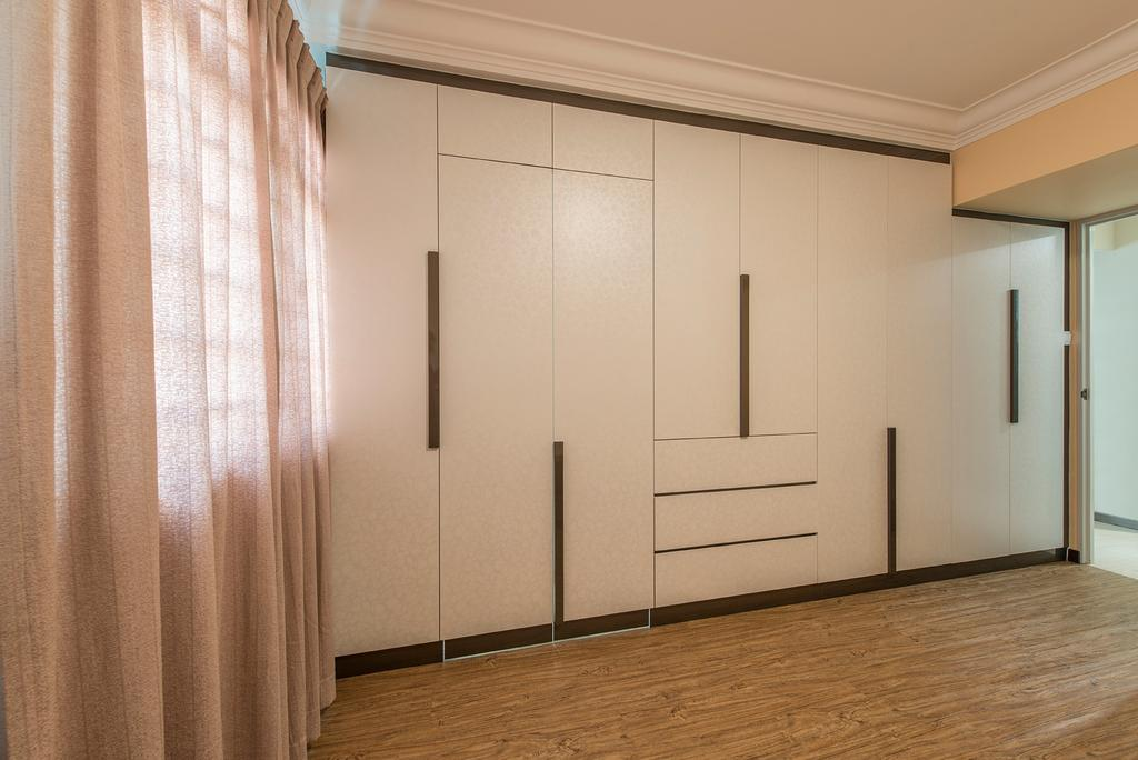 Traditional, HDB, Bedroom, Bukit Batok Central, Interior Designer, Ace Space Design, Wardrobe, Closet, Cabinetry, Cabinet