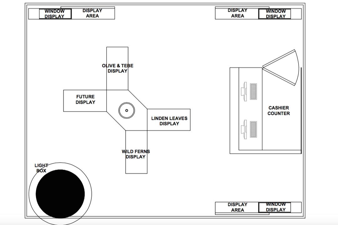 Skin Topic, Zyon Studio Sdn. Bhd., Traditional, Commercial, Floor Plan, Diagram, Plan