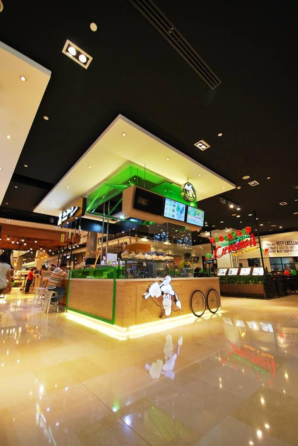 KK Woody, Commercial, Interior Designer, The Grid Studio, Traditional, Food, Food Court, Restaurant
