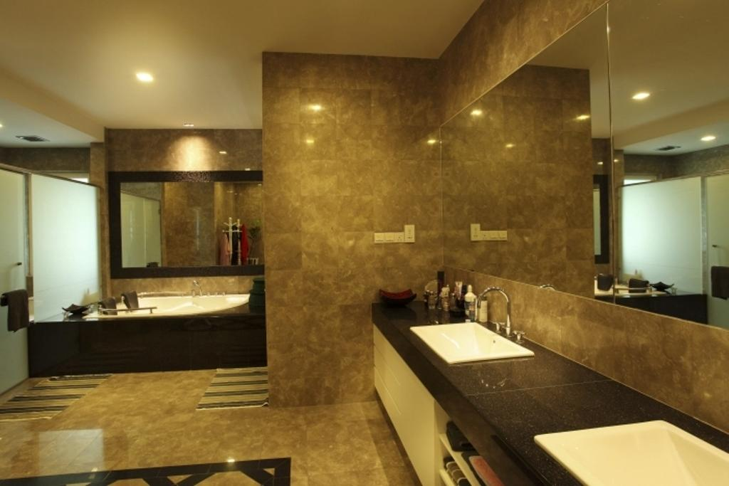 Traditional, Landed, Bathroom, Rafflesia, Interior Designer, The Grid Studio, Sink, Indoors, Interior Design, Room, Apartment, Building, Housing, Conference Room, Meeting Room