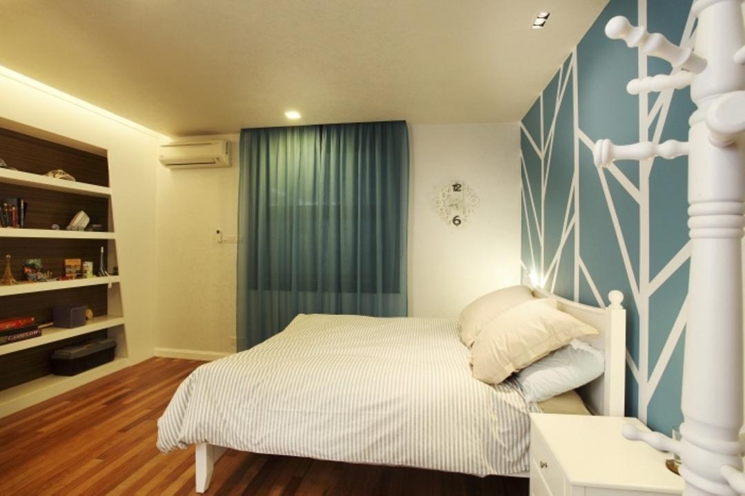 Rafflesia, The Grid Studio, Traditional, Bedroom, Landed, Beverage, Dairy, Drink, Milk, Indoors, Interior Design, Room