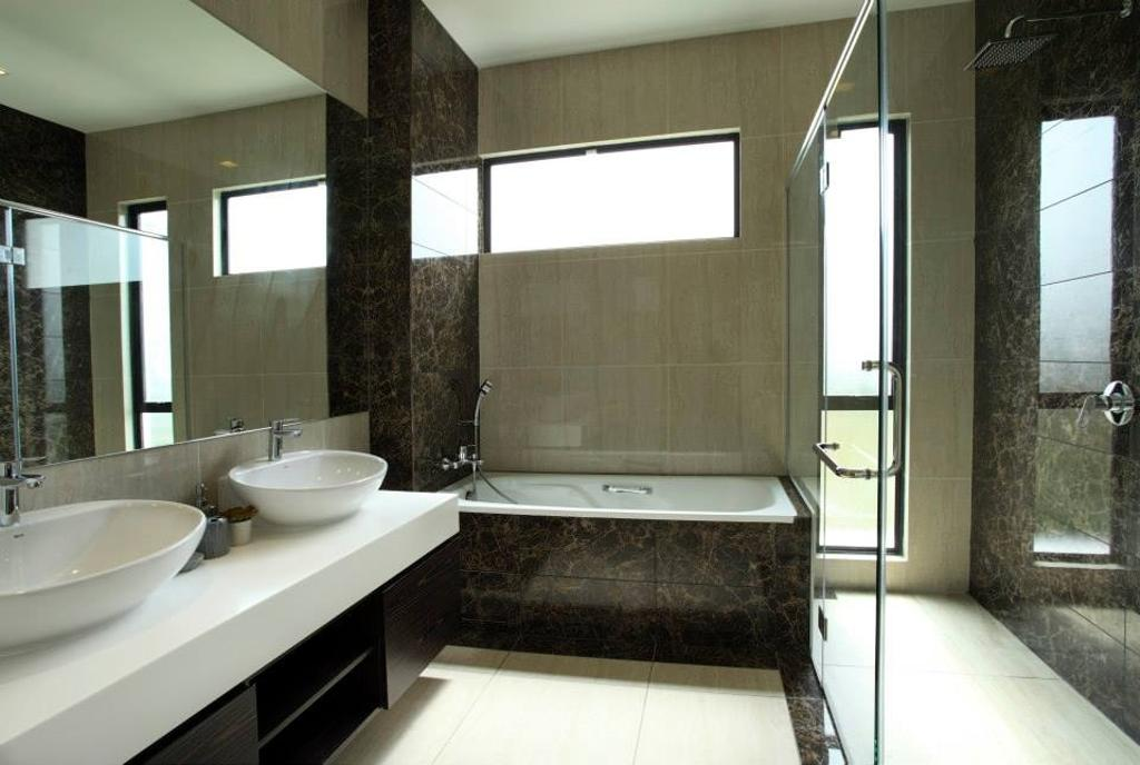 Modern, Landed, Bathroom, 16 Sierra, Interior Designer, The Grid Studio, Indoors, Interior Design, Room
