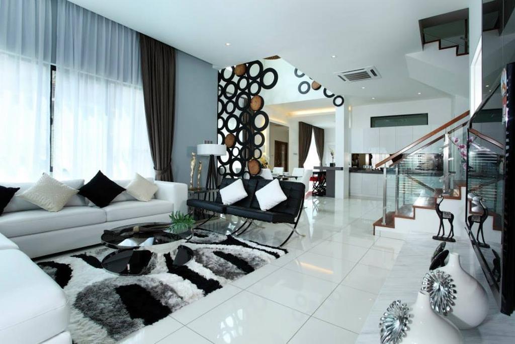 Modern, Landed, Living Room, 16 Sierra, Interior Designer, The Grid Studio