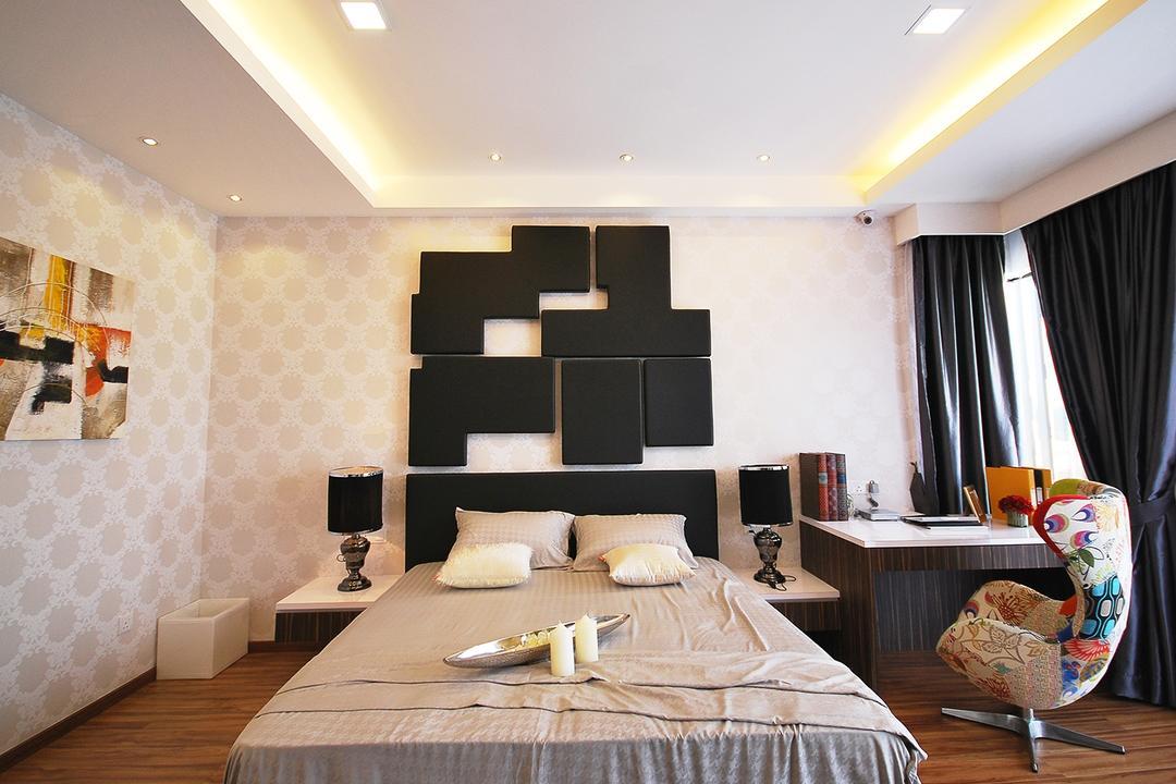 Ipoh South, The Grid Studio, Eclectic, Bedroom, Landed, Art, Modern Art, Indoors, Interior Design, Room