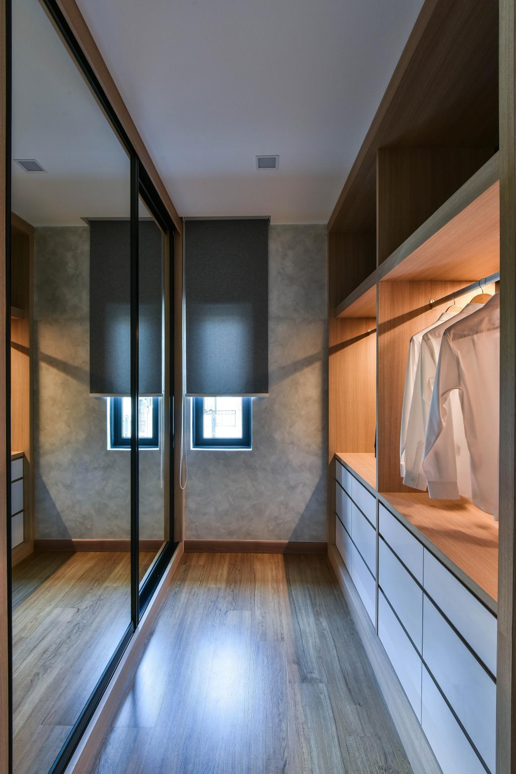 Modern, Landed, Bedroom, Sierra Damansara, Interior Designer, Surface R Sdn. Bhd., Indoors, Interior Design