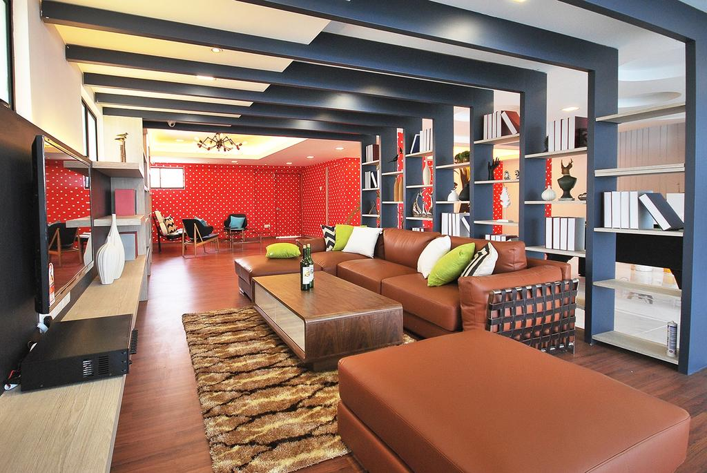 Eclectic, Landed, Living Room, Ipoh South, Interior Designer, The Grid Studio