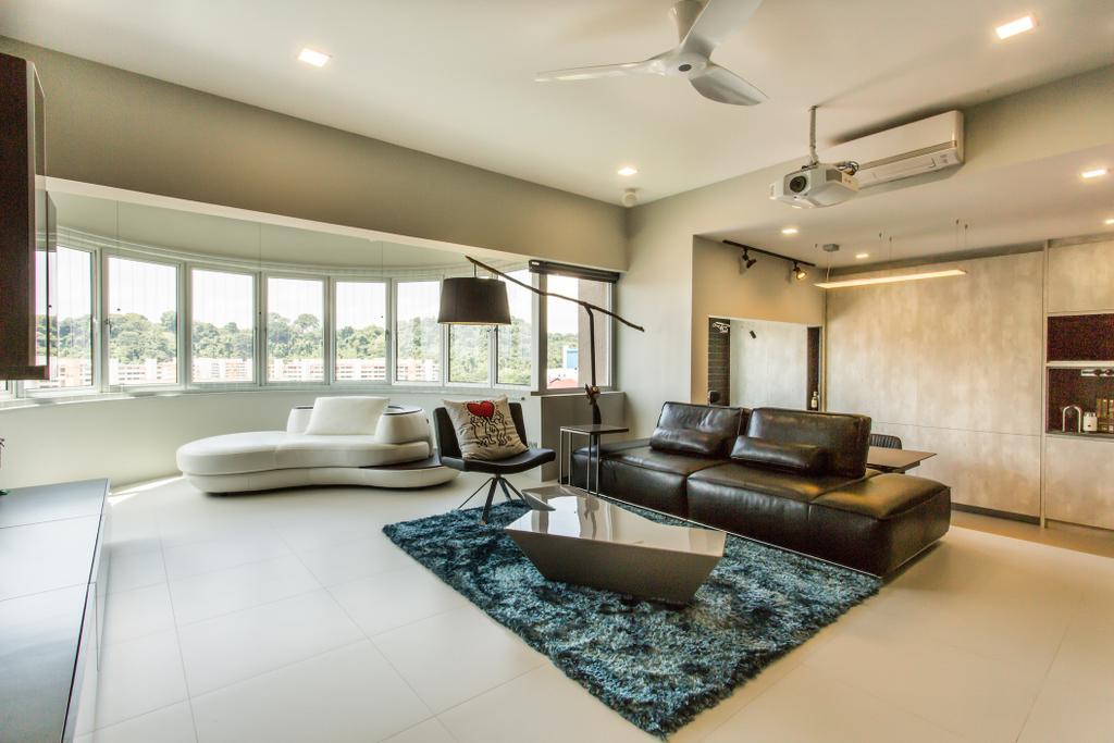 Modern, Condo, Living Room, Lower Delta Road, Interior Designer, Ingenious Design Solutions, Indoors, Interior Design, Lighting, Couch, Furniture, Room