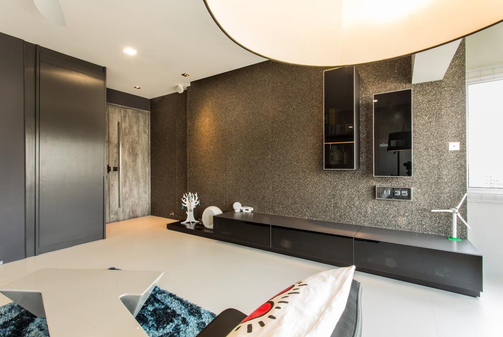 Modern, Condo, Living Room, Lower Delta Road, Interior Designer, Ingenious Design Solutions, Bathroom, Indoors, Interior Design, Room