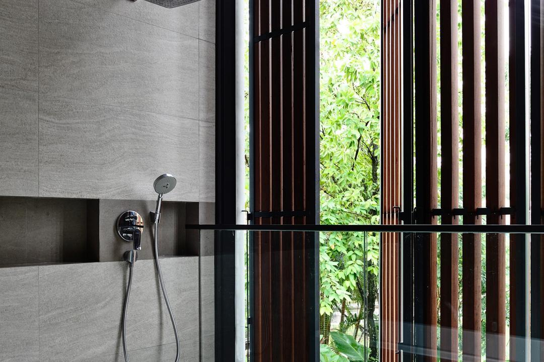Greenwood Avenue, HYLA Architects, Modern, Bathroom, Landed, Flora, Plant, Vine