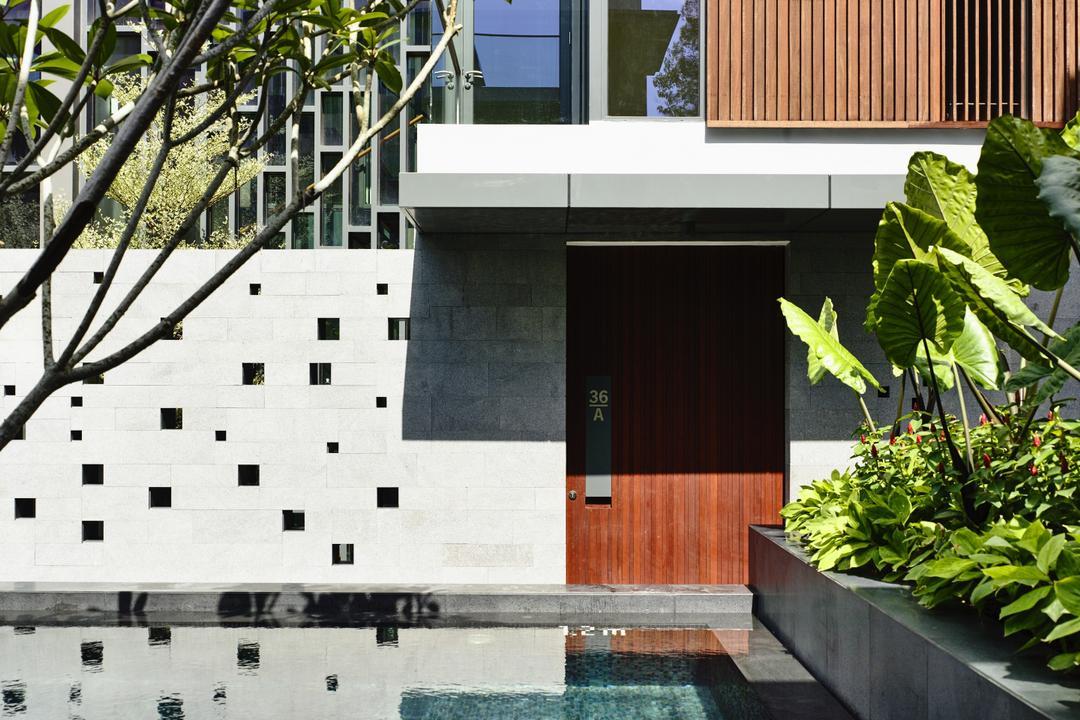 Toh Crescent, HYLA Architects, Modern, Landed, Flora, Jar, Plant, Potted Plant, Pottery, Vase, Herbs, Planter