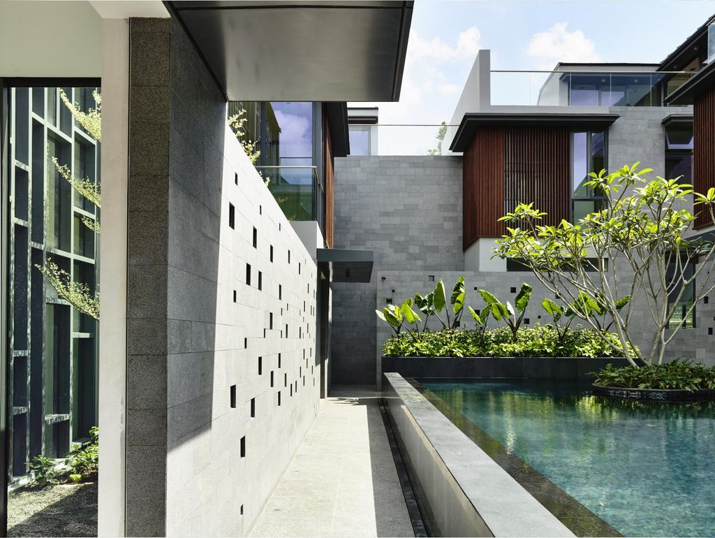Modern, Landed, Toh Crescent, Architect, HYLA Architects, Flora, Jar, Plant, Potted Plant, Pottery, Vase, Planter