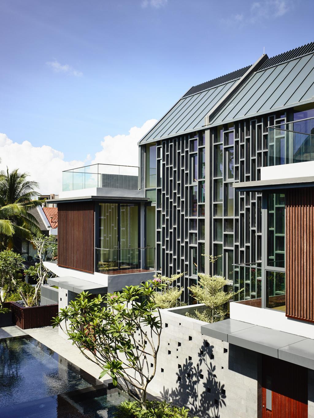 Modern, Landed, Toh Crescent, Architect, HYLA Architects, Flora, Jar, Plant, Potted Plant, Pottery, Vase, Building, House, Housing, Villa