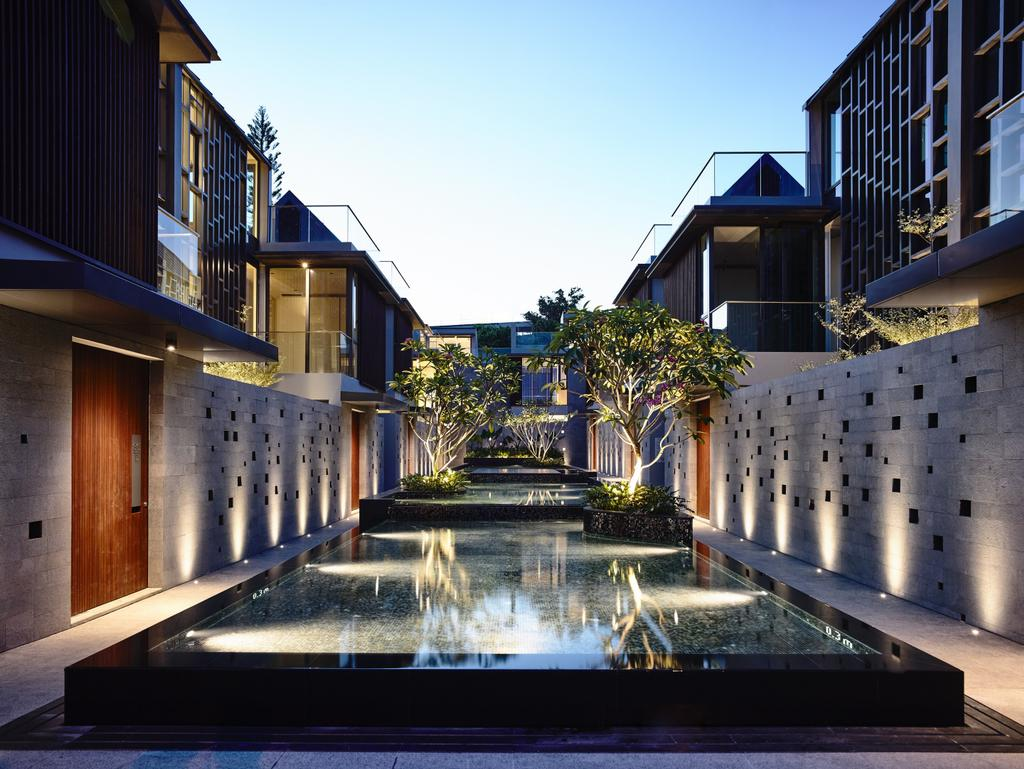 Modern, Landed, Toh Crescent, Architect, HYLA Architects, Building, House, Housing, Villa, Flora, Jar, Plant, Potted Plant, Pottery, Vase