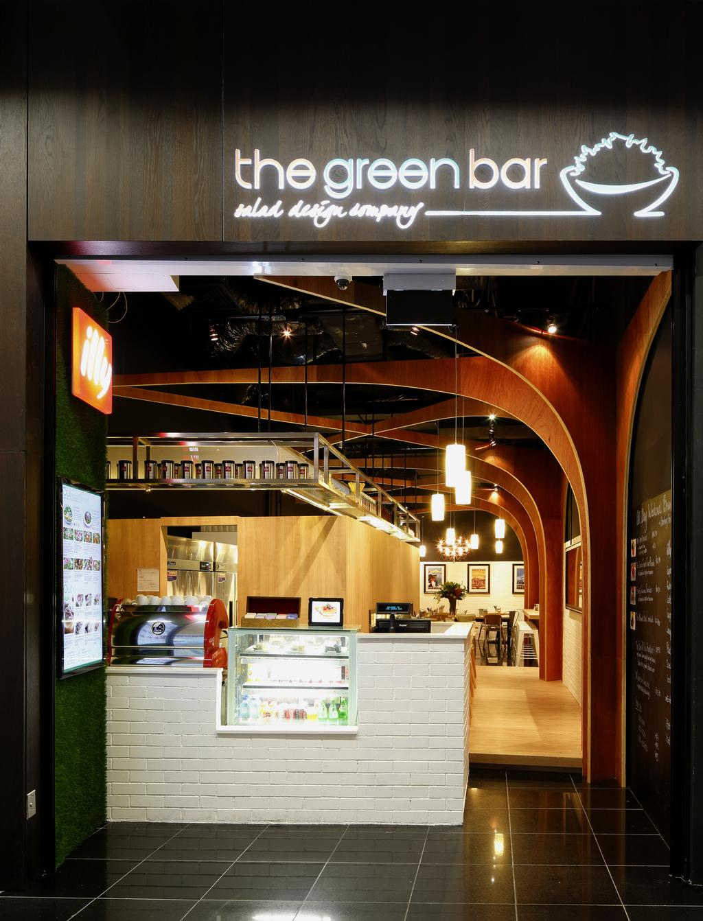 The Green Bar, Commercial, Architect, EHKA Studio, Minimalistic