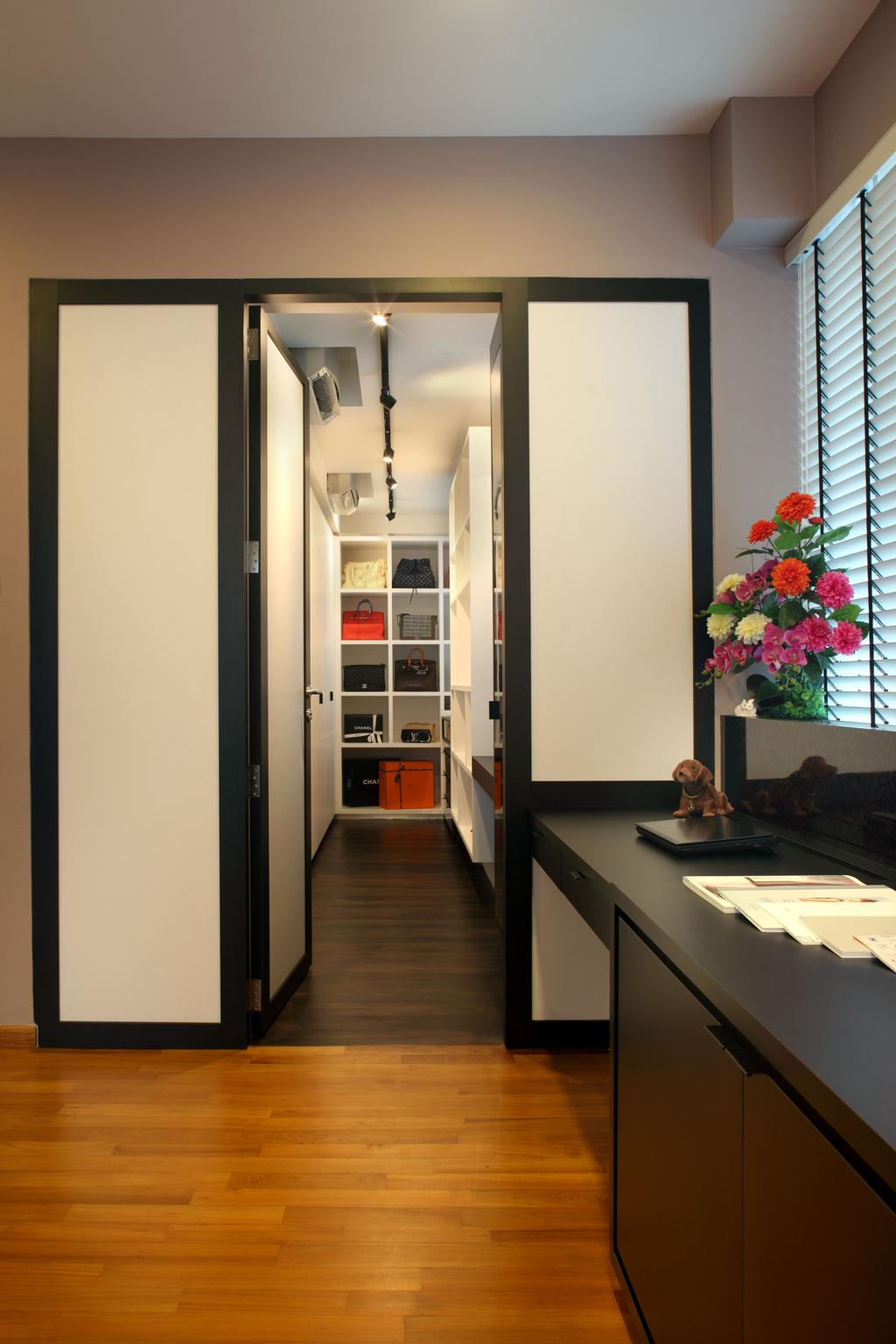Contemporary, Landed, Bedroom, Lorong Salleh (Block 16A), Interior Designer, The Scientist, Modern, Flora, Jar, Plant, Potted Plant, Pottery, Vase