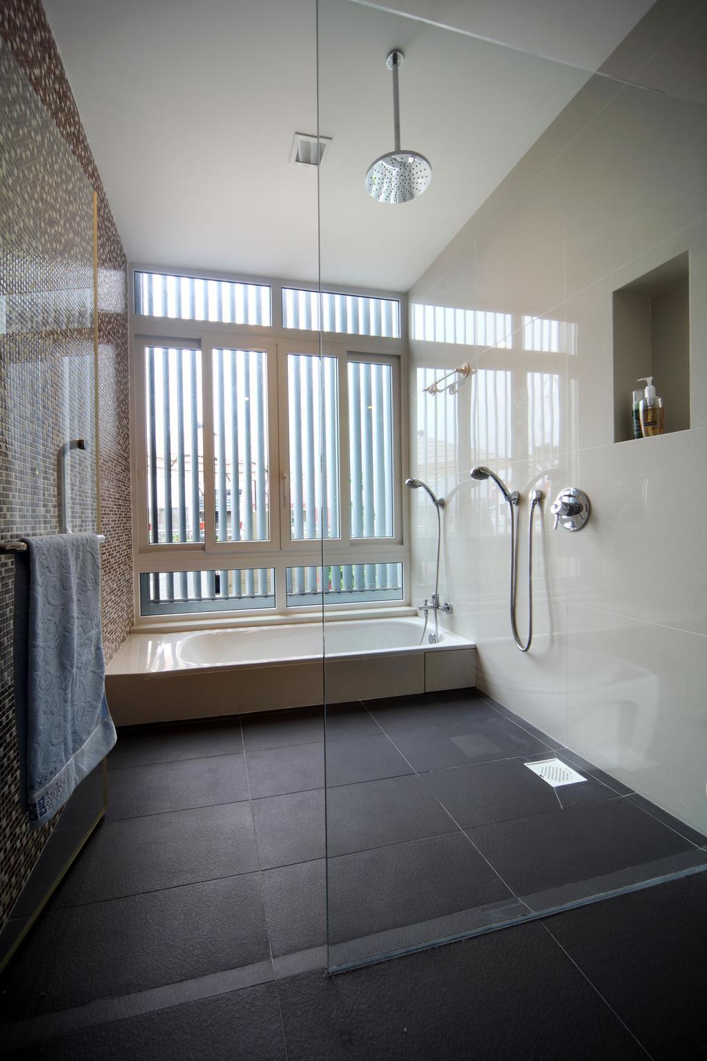 Contemporary, Landed, Bathroom, Lorong Salleh (Block 16A), Interior Designer, The Scientist, Modern