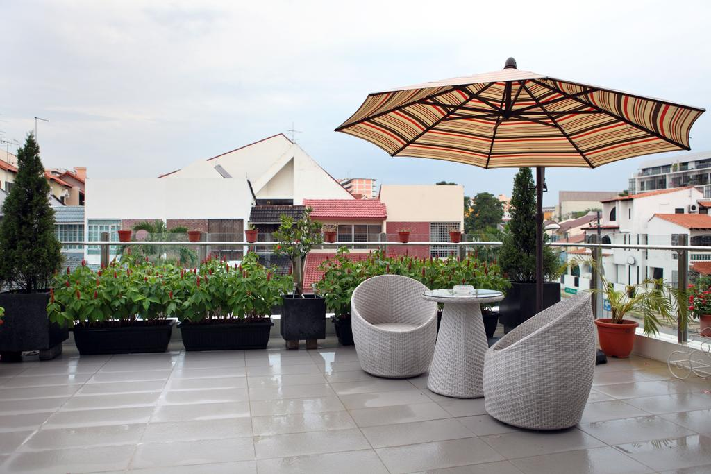 Contemporary, Landed, Balcony, Lorong Salleh (Block 16A), Interior Designer, The Scientist, Modern, Balcony Furniture, Woven Furniture, Potted Plant, Greeneries, Plants, Patio Umbrella, Flora, Jar, Plant, Pottery, Vase