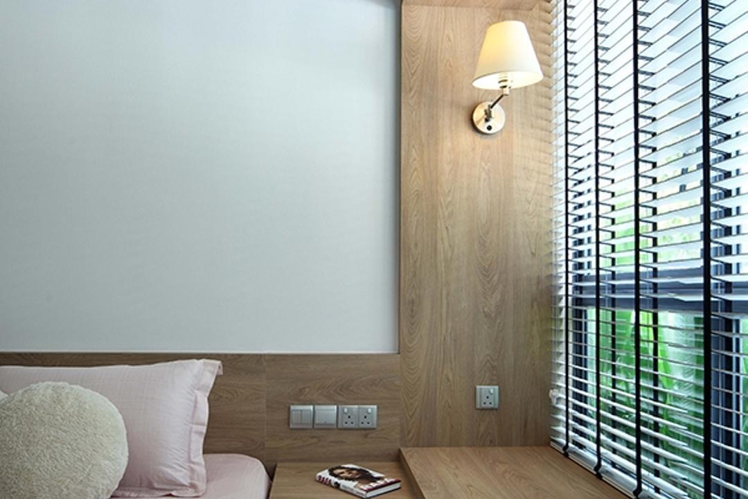 The Gale, The Scientist, Modern, Scandinavian, Bedroom, Condo, Cosy Corner, Cosy Nook, Bay Window, Natural Lighting, Relax