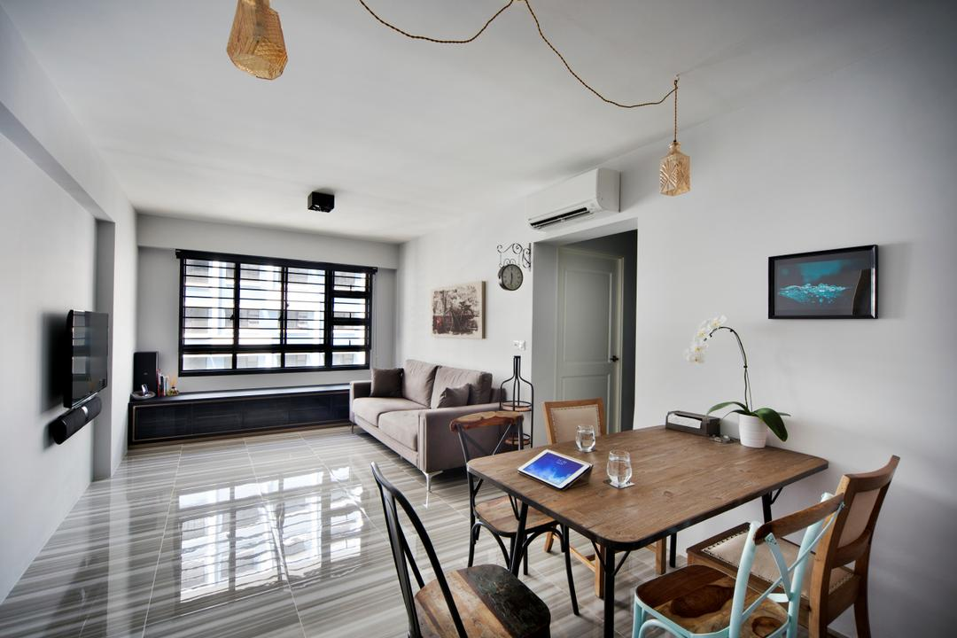 interior design ideas for rectangular living room