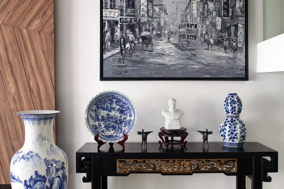 Dakota Crescent (Block 62), The Scientist, Contemporary, Living Room, HDB, Vases, Decor, Decor Items, Chinese Vase, Antiques, Chinese Treasures, Art, Porcelain, Pottery