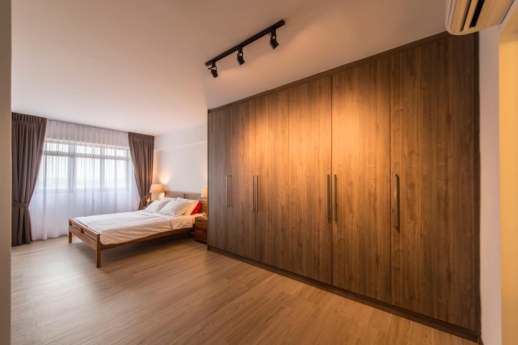 Minimalistic, HDB, Bedroom, Anchorvale Lane (Block 312A), Interior Designer, Starry Homestead