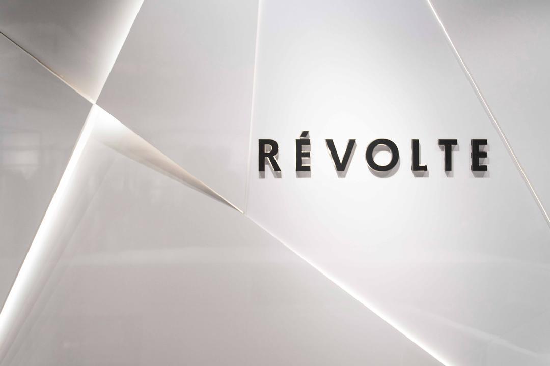 Revolte Flagship Store, asolidplan, Minimalistic, Commercial, Shop Front, Store Front, Revolte Flagship Store, Feature Wall, Shop Feature Wall, Corridor