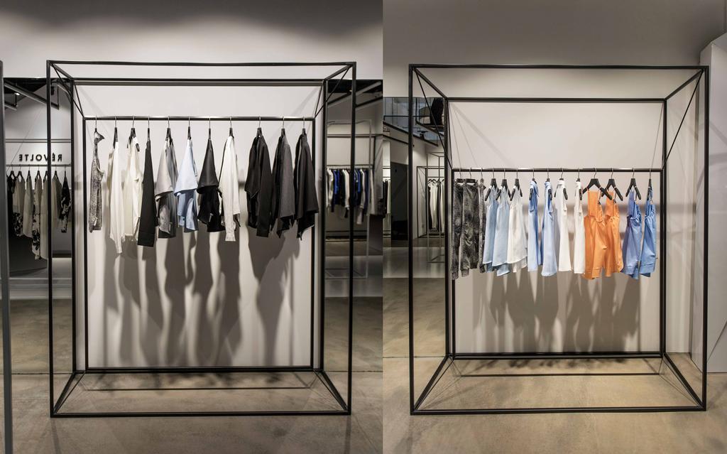 Revolte Flagship Store, Commercial, Architect, asolidplan, Minimalistic, Racks, Clothes Rack, Clothes Display, Simple And Unique, Simple And Unique Clothes Rack, Designer Clothes Rack, Apron, Shop