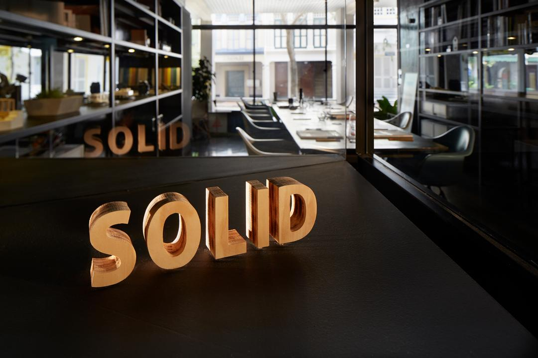 Solid with Asolidplan, asolidplan, Contemporary, Commercial, Showroom Concept, Office Concept, Asolidplan Office Concept, Office Idea, Door, Revolving Door