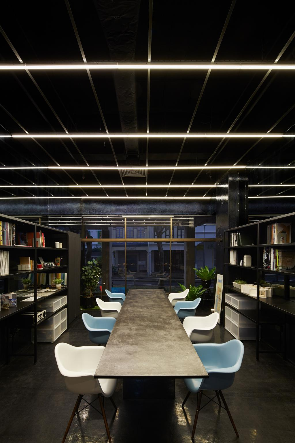 Solid with Asolidplan, Commercial, Architect, asolidplan, Contemporary, Office Furnitures, Showroom Furnitures, Long Table, Meeting Table, Flora, Jar, Plant, Potted Plant, Pottery, Vase, Balcony