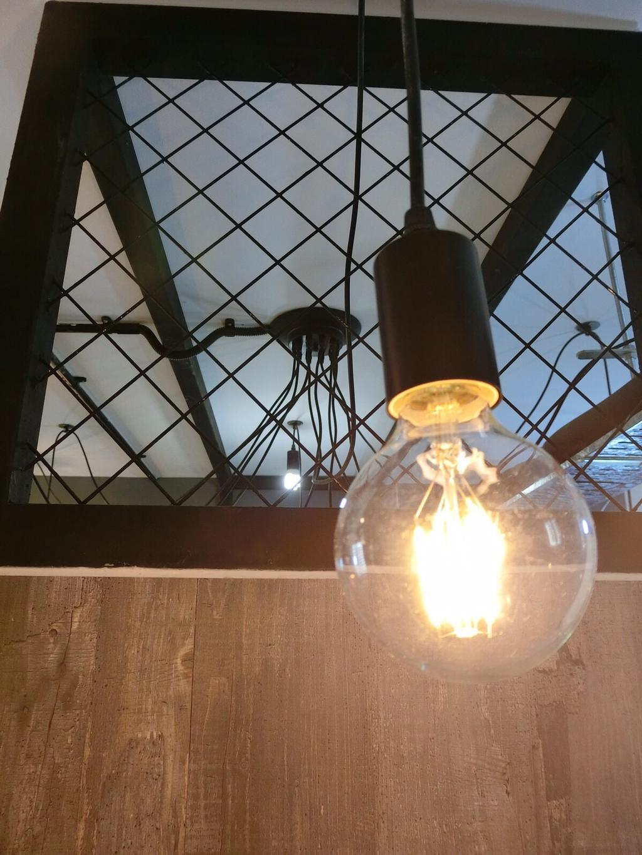 Industrial, HDB, Punggol Walk, Interior Designer, Ace Space Design, Light Bulb, Light Bulb Pendant Lamp, Fire, Flame