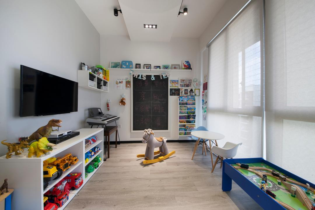 Parc Vera, Habit, Contemporary, Bedroom, Condo, Toys, Collection, Kids, Children, Colourful, Kids Room, Kids Room, Playroom, Dining Table, Furniture, Table, Indoors, Room