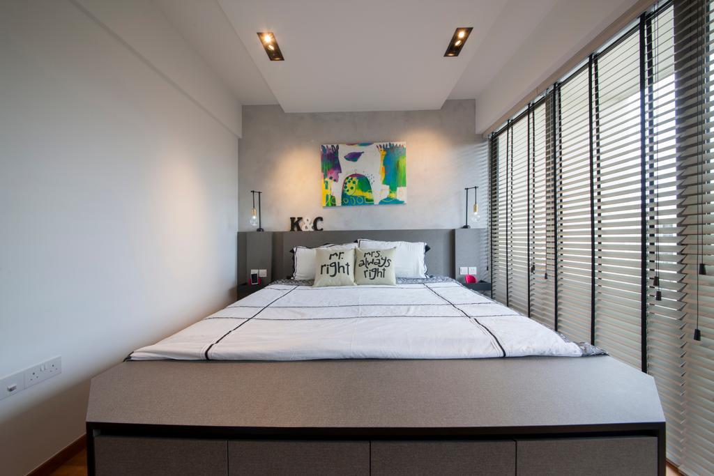 Contemporary, Condo, Bedroom, Parc Vera, Interior Designer, Habit