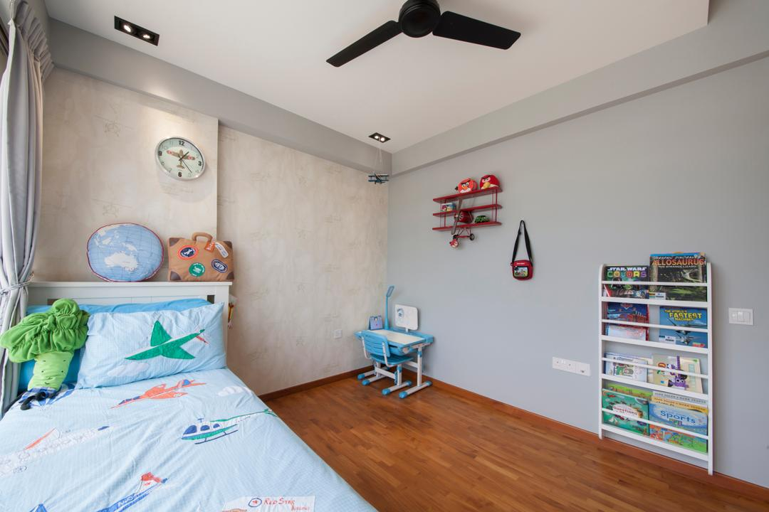 Parc Vera, Habit, Contemporary, Bedroom, Condo, Cartoon, Cute, Plushie, Cushion, Rack, Shelf, Indoors, Interior Design, Room