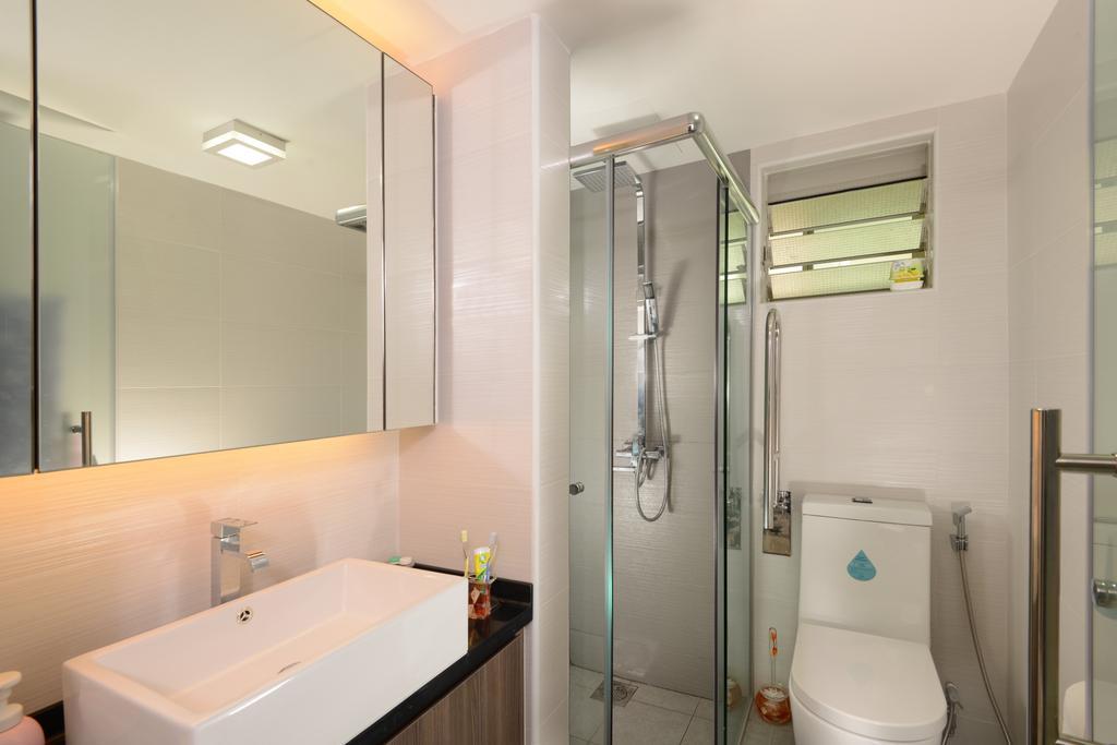 Modern, HDB, Bathroom, Punggol Central, Interior Designer, Eight Design