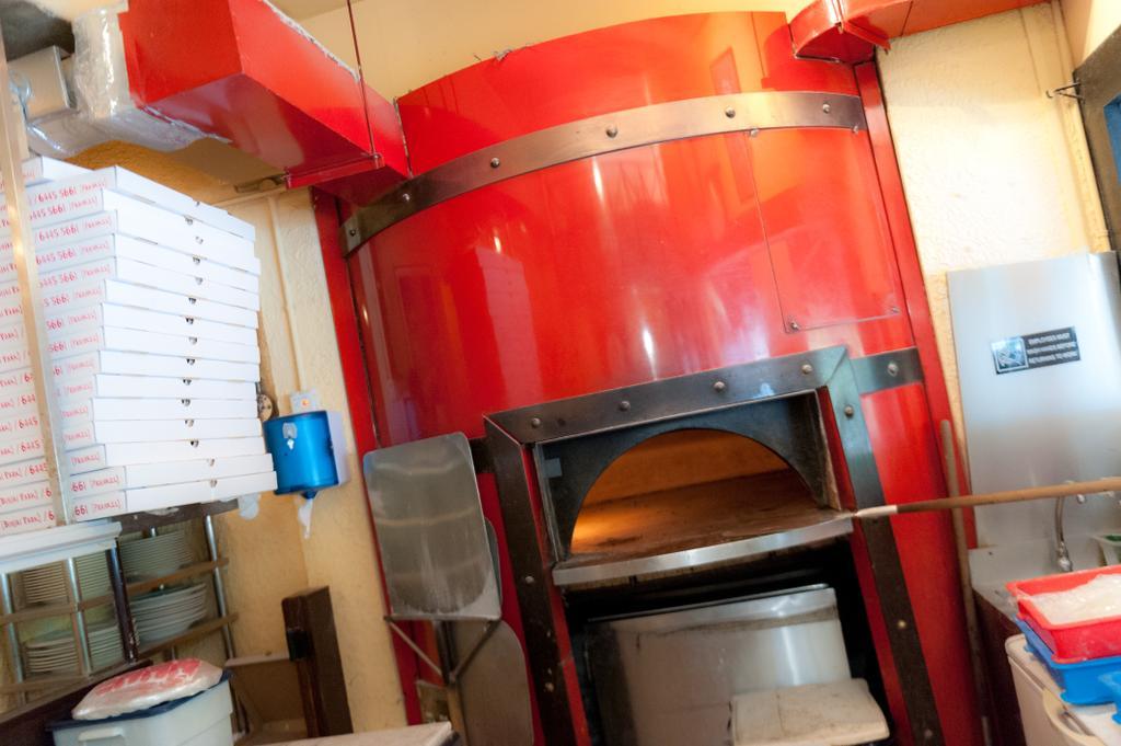 Greenwood, Commercial, Interior Designer, Fineline Design, Pizza Oven
