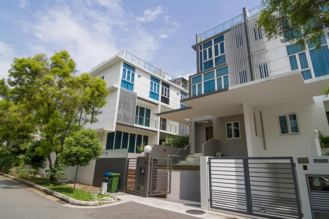 Andrew Road, NID Design Group, Traditional, Landed, Home Exterior, Entrance, Architecture, Landed Property