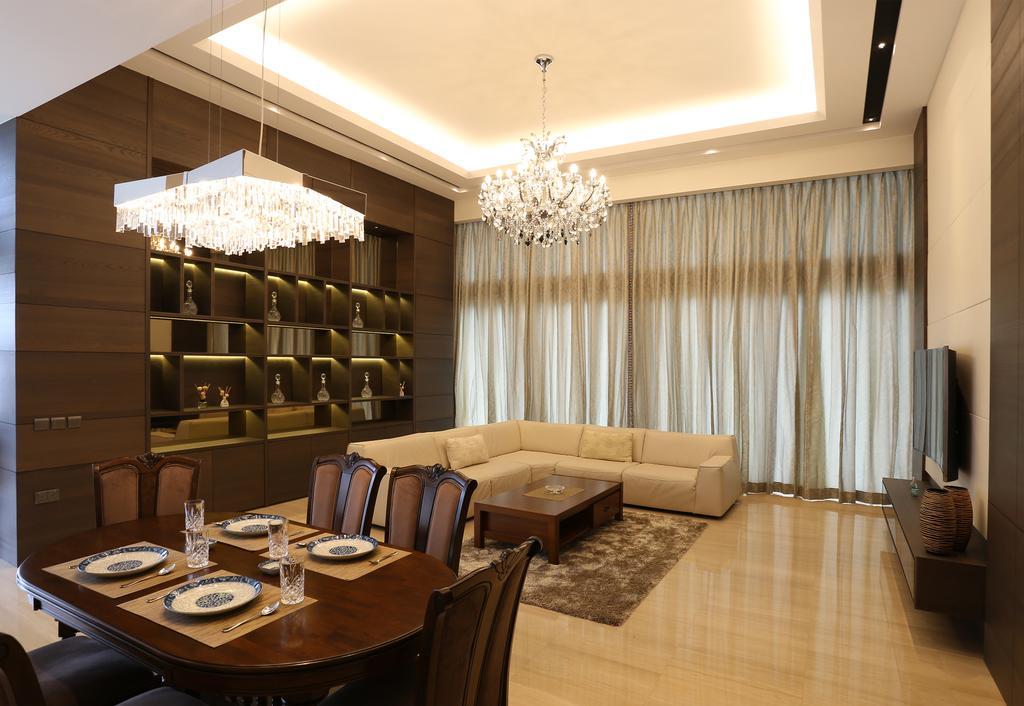 Traditional, Condo, Living Room, Silversea, Interior Designer, United Team Lifestyle, Couch, Furniture, Dining Room, Indoors, Interior Design, Room, Lighting
