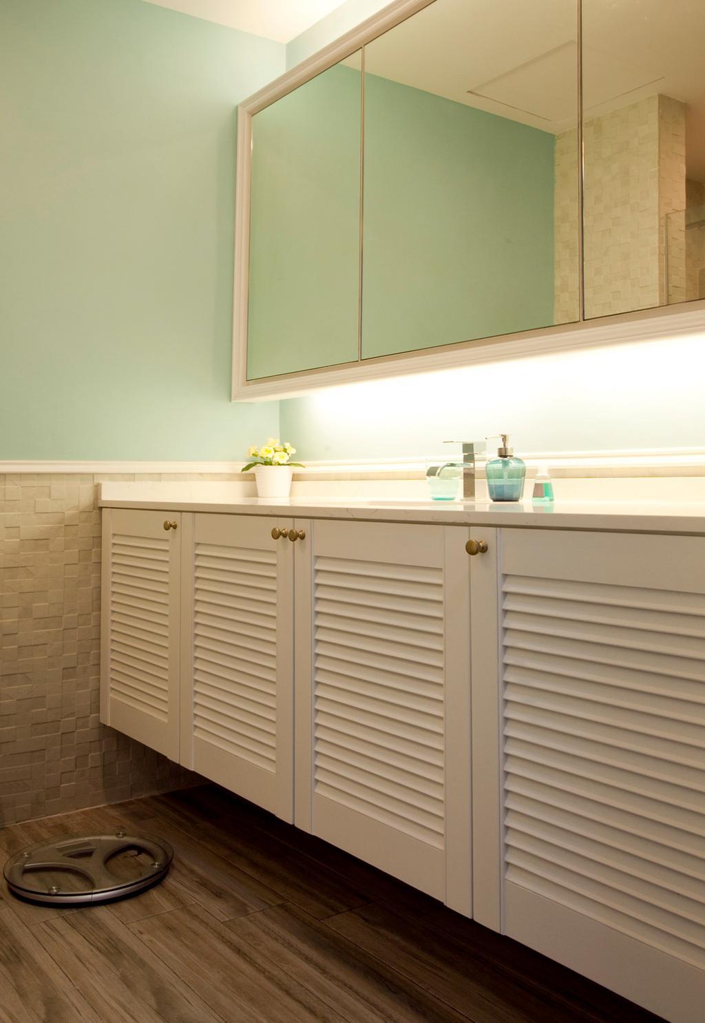Minimalistic, Condo, Bathroom, Sin Ming Plaza, Interior Designer, United Team Lifestyle